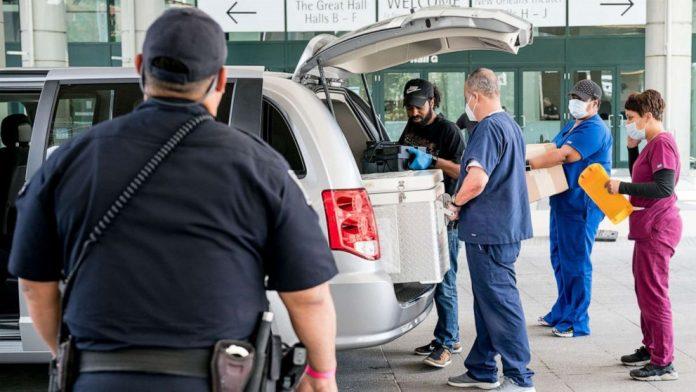Coronavirus USA Update: 702 deaths in Louisiana, ventilator usage drops