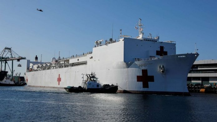 Coronavirus USA Update: USNS Mercy crew member tests positive for COVID-19