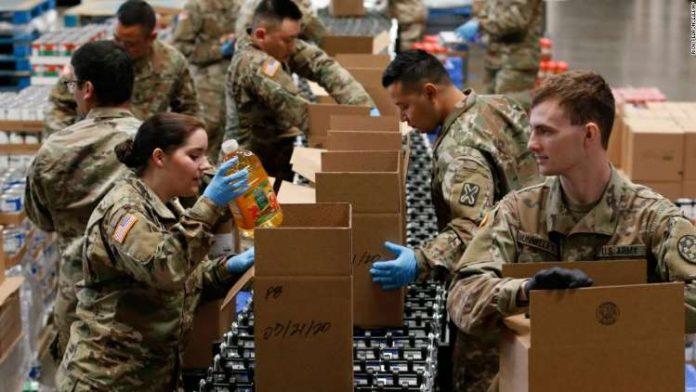 Coronavirus USA Update: Washington deploys National Guard to help food banks