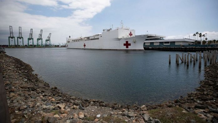 Coronavirus USA Updates: 7 crew members on USNS Mercy test positive for virus