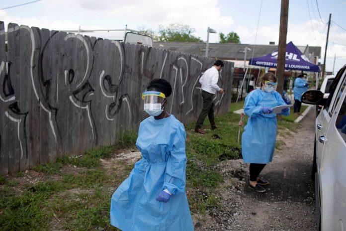 Coronavirus USA Updates: Louisiana sees lowest increase in cases in weeks