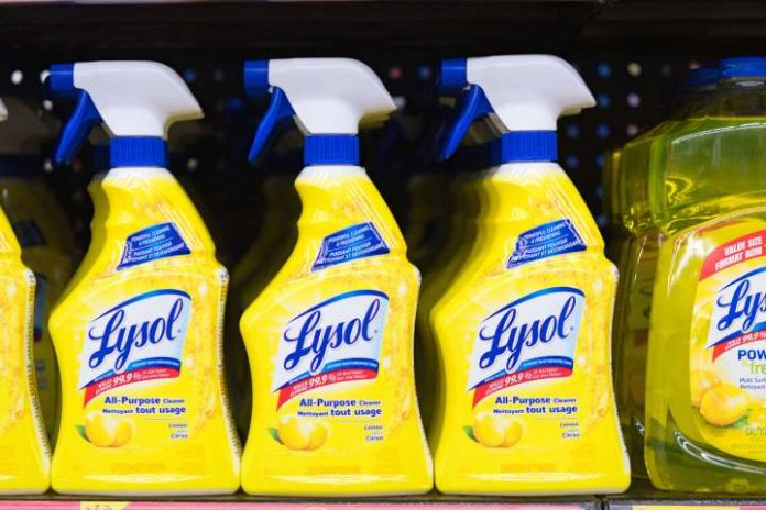 Coronavirus USA Updates: Lysol company says don't ingest its products to fight COVID-19