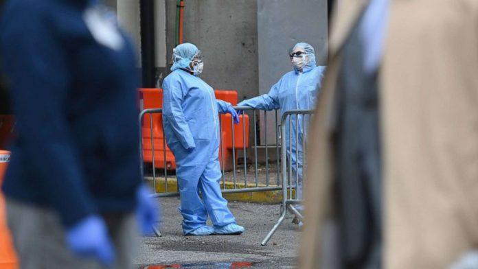 Coronavirus USA Updates: daily US cases slightly lower