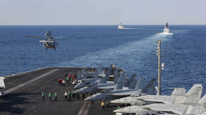 Iran Threatens to Destroy US ships in Persian Gulf