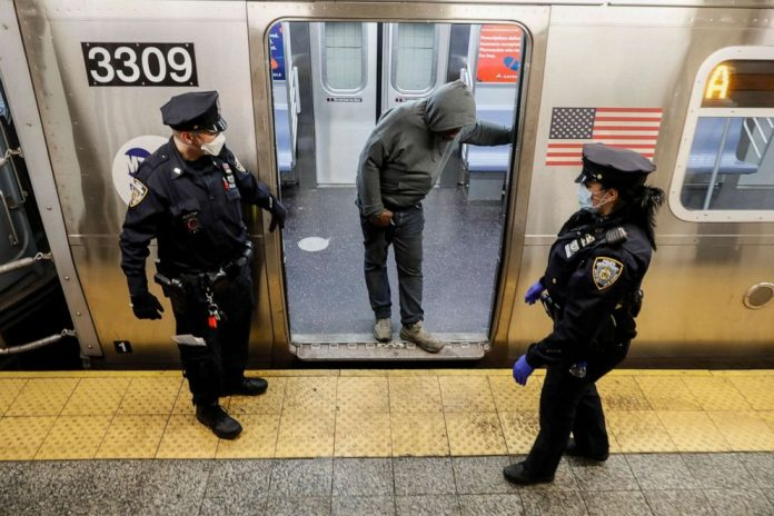 Coronavirus US Updates: NYC preps for subway's 1st overnight shutdown in at least 50 years