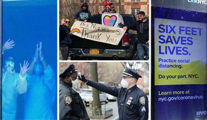 Coronavirus USA Updates: 3 more NYPD deaths; far fewer sick