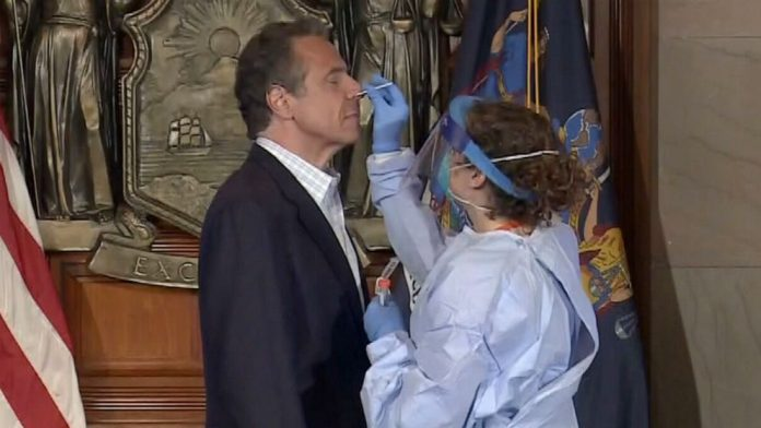 Coronavirus USA Updates: Cuomo urges NYers to get tested, demonstrates swab test