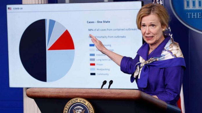 Coronavirus USA Updates: Success of reopening will depend on following guidance, Birx says
