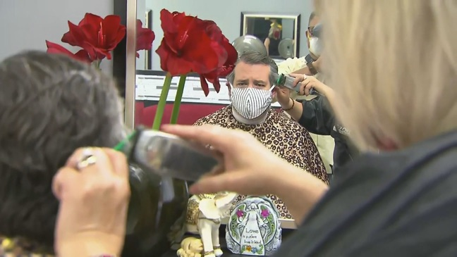 Coronavirus USA Updates: Ted Cruz gets haircut from previously jailed salon owner