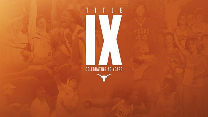 48th anniversary of Title IX becoming law