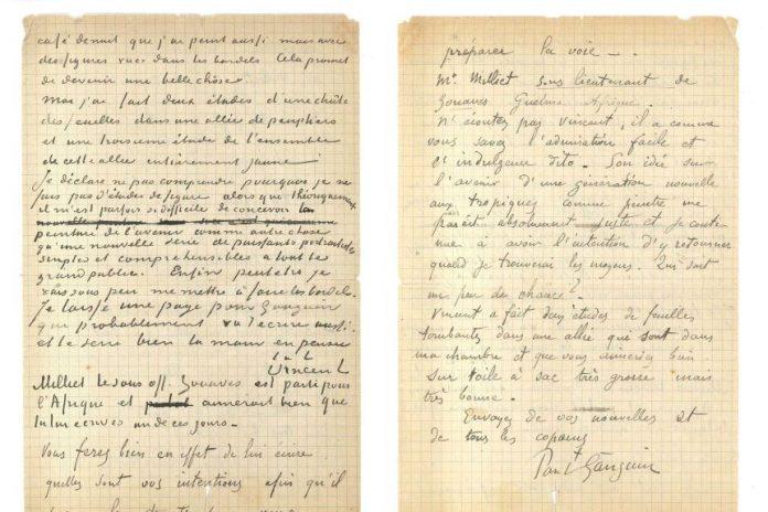 Van Gogh Letter Sells for $343,500 in Paris, Report