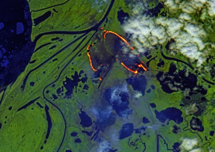 'Zombie fires' return to warming Arctic, Report