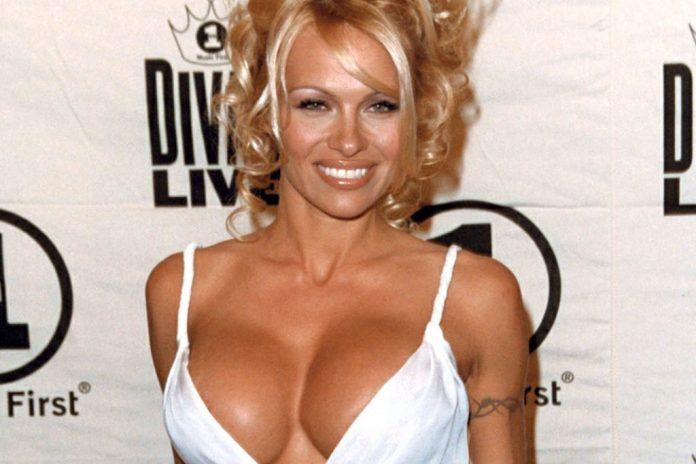 Actress Pamela Anderson Through the Years