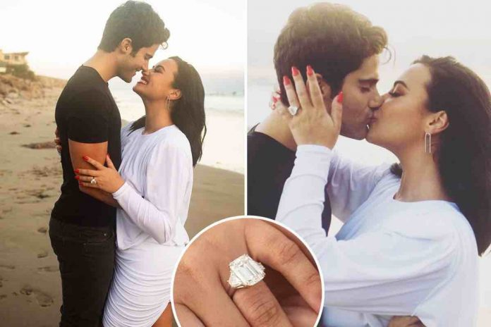 How long has Demi been dating Max? Star and Ehrich are officially engaged!