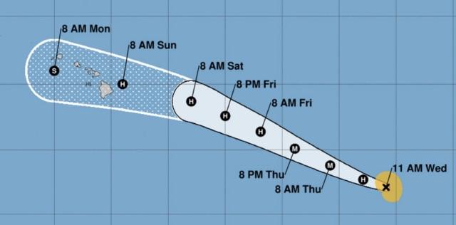 Hurricane Douglas Heading Toward Hawaii (Reports)