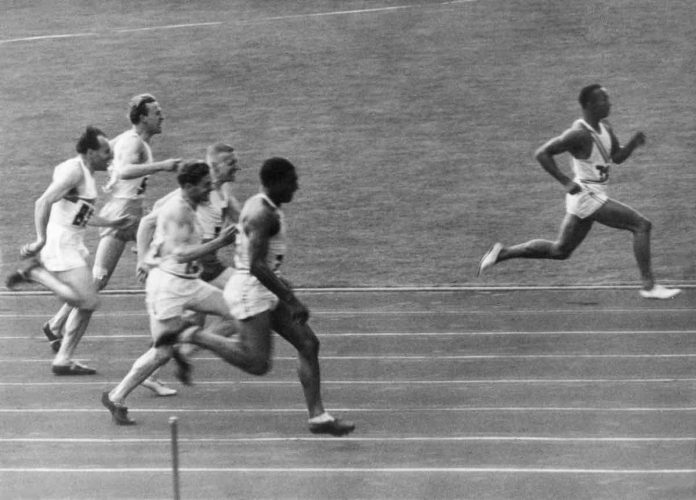 Jesse Owens' Historic Wins at the Berlin 1936 Summer Olympics