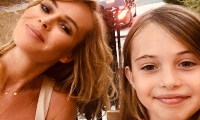 Picture: Amanda Holden adorably twins with daughter Hollie in new holiday photo