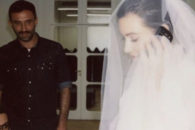 Picture: Kim Kardashian Shares Intimate Snaps from Her 2014 Wedding Dress Fitting