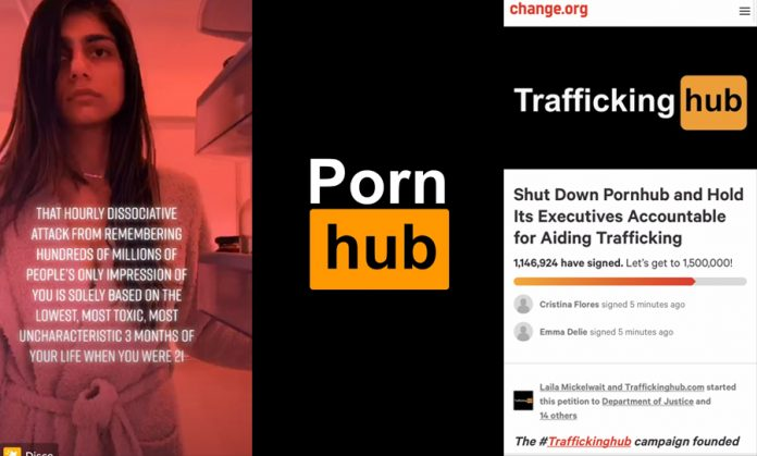 Pornhub: Mia Khalifa and others speak out against the website (Reports)