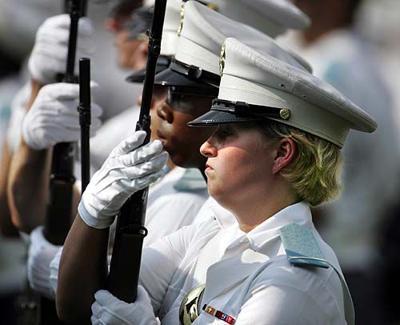 Shannon Faulkner, Female cadet begins