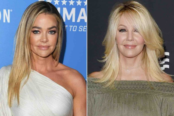 Denise Richards and Heather Locklear'sFriendship Timeline (Report)