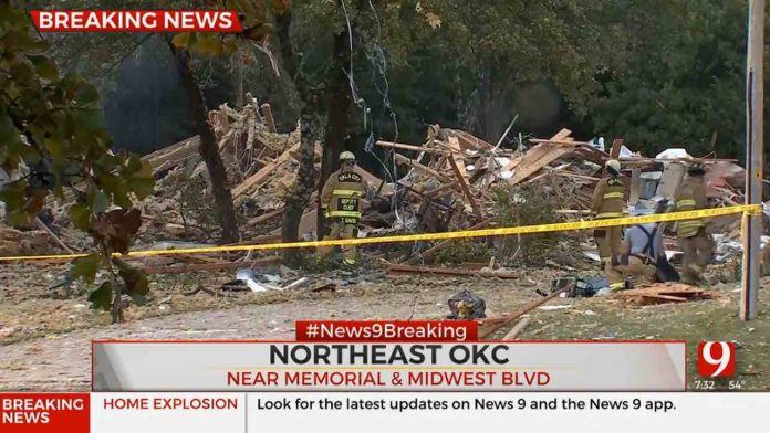 Fire officials: Young girl killed, 3 others injured in house explosion in Edmond
