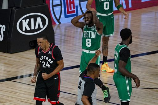 On to Game 7: Raptors survive Celtics in double-OT thriller, Report