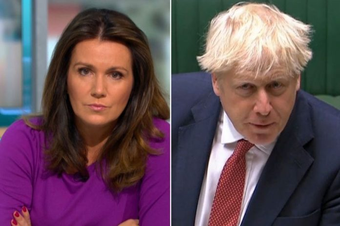 Susanna Reid slams government's 'shocking' communication of new lockdown rules, Report