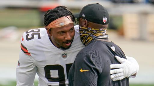 Marla Ridenour: In Steelers' rout of Browns, Myles Garrett's gesture carries significance