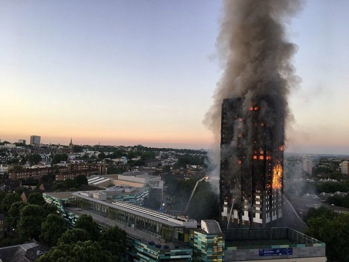 Police investigating Grenfell Tower fire make first arrest, Report