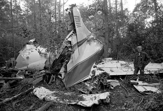 Today in History for October 20th: Lynyrd Skynyrd's plane crash