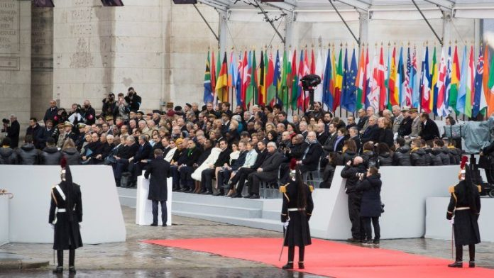 World War: Macron leads Armistice Day commemorations in France