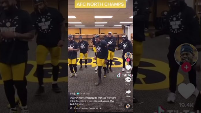 Watch: Steelers celebrate 2020 AFC Championship win with dance party