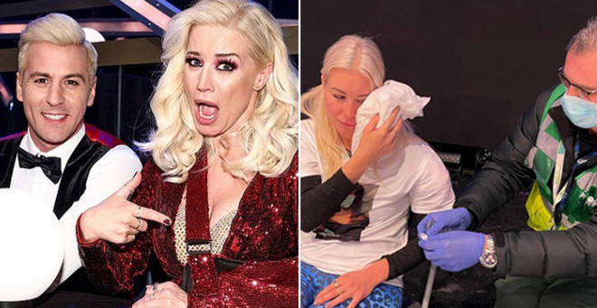 Denise Van Outen quits Dancing on Ice after shock injury, Report