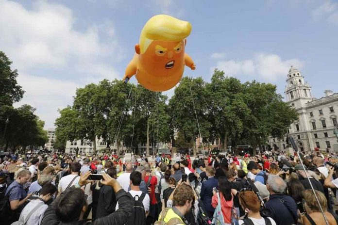 Donald Trump baby blimp to get final resting place at Museum of London (Picture)