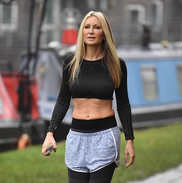 Picture: Caprice Bourret flaunts toned stomach on jog after tragically losing her grandmother to 'evil' covid