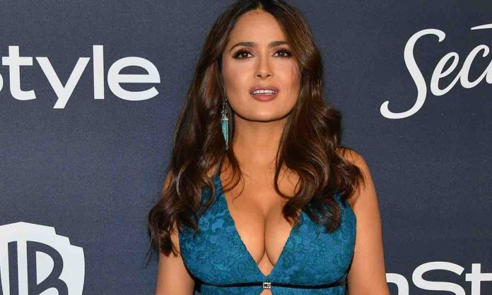 Salma Hayek stresses fans out with latest sultry selfie