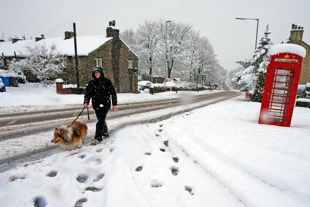 Britain braces for EIGHT INCHES of snow and 50mph gale-force winds, Report