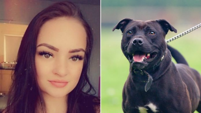 First picture of young woman mauled to death 'by dog she rescued' as she was in bed (Photo)