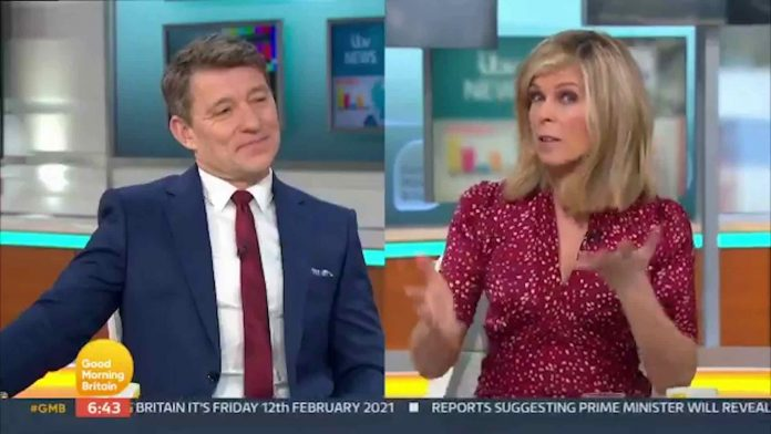 Kate Garraway leaves GMB co-stars in hysterics as she praises milkman for 'offering extras' (Video)