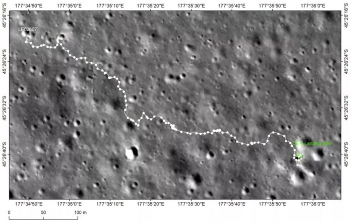Picture: China's Yutu 2 rover finds 'milestone' on far side of the moon