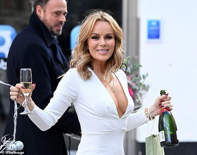 Star Amanda Holden is 'reported to police' for breaching Covid rules