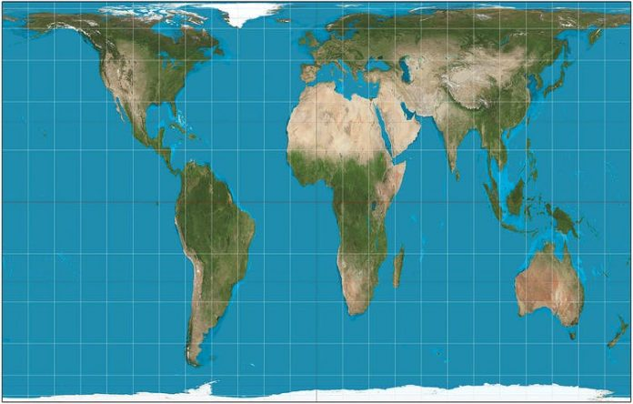 This map will make you see the world completely differently, Report