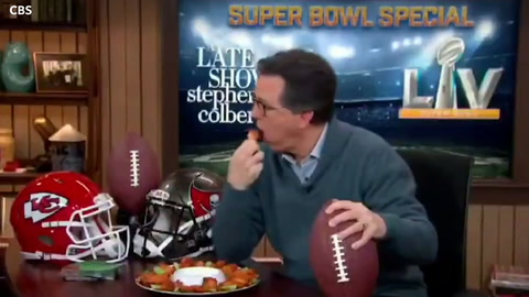Video: Stephen Colbert blasted for 'disgusting' Super Bowl commercial
