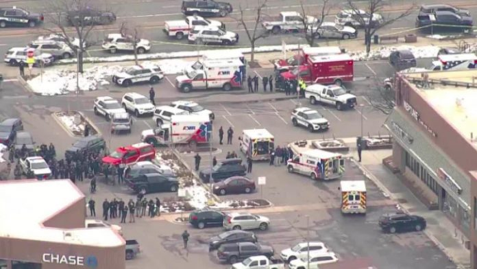 Boulder Police responded to an active shooter situation in Colorado, Report