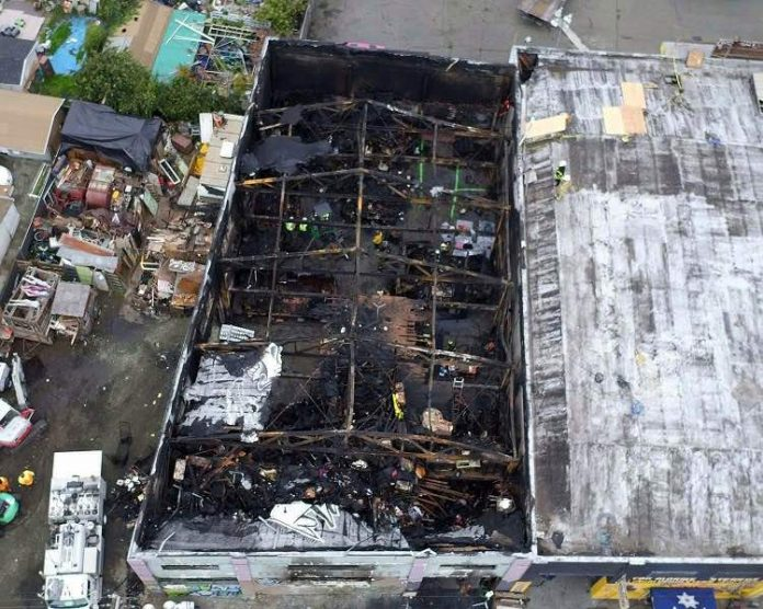 'Ghost Ship' leaseholder is sentenced to 12 years for warehouse fire that killed 36 people (Report)
