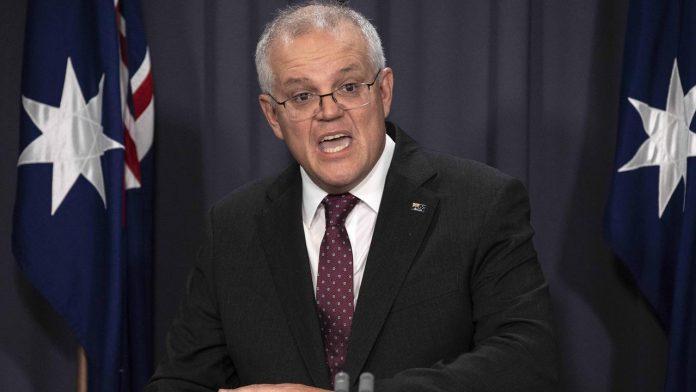 Prime Minister Scott Morrison apologises for raising harassment allegation