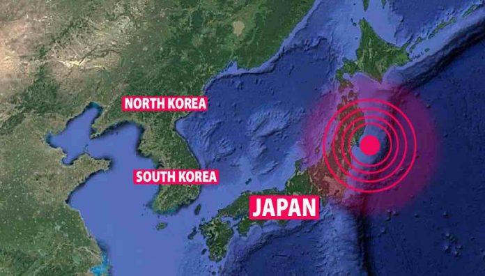 Tsunami warning after massive 7.2 earthquake strikes Japan, Report