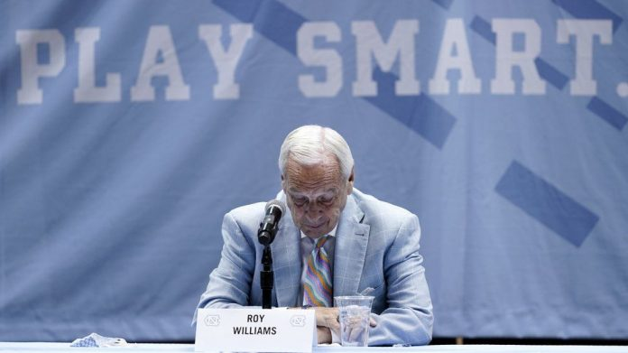 Hall of Fame coach Roy Williams retiring from College Basketball