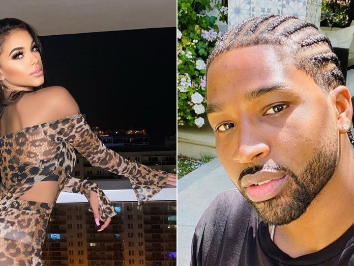 Sydney Chase says Tristan Thompson messaged her about cheating claims in bombshell interview (Details)